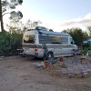 Sonoran front yard RV hookups