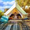 Waterfront Bell Tent free kayaks!