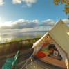Waterfront Bell Tent free kayaks!