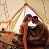 High Desert Glamping Yurt(w/heater)