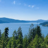 Panoramic View of Lake Pend Oreille