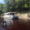 Houseboat on Upper Suwannee