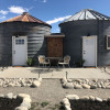 Two Grain Silos turned Glamping!