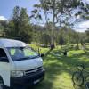 Flowering Gum campsite.