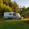 Tweed Valley Golf Stay: Lux Caravan