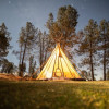 Jerusalem Ranch Tepee and Trailer