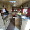 Cozy Creekside Vintage Trailer