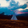 Stardance tipi for the traveling.