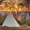 RV and 26 ft Designer Tepee