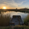 Camping by pond or Pecan Orchard