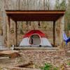 Fairmead Farm Shed Tent Site 2