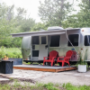 Airstream on private 5 acres