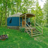 Bear Kamp is our largest yurt