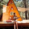 Sun A-Frame Cabin, Cedar Bloom