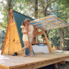 Moon A-Frame Cabin, Cedar Bloom