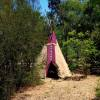 Tipi for 2 - Child Free Environment