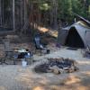 Kootenai camp 4 mountain people.