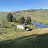 Beautiful Hilly River Camp