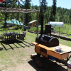 Barrel Cabins on Organic Farm