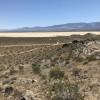 Hills and Beautiful  Desert Scene