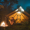 Canadian Wood and Canvas Tent