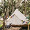 Yurt with kayaks & optional A/C