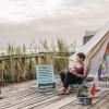 Namaste in Bed Waterfront Yurt