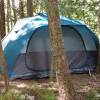 Tent Camping Among the Trees