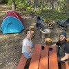 Upper Campsite by Kewl Mom's Hut