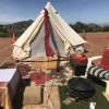 D'lux Ranch Camping w/Tent option