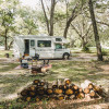 RV Site Under The Trees