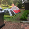 Tents included