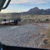 Dry camping RV Van  trailer .