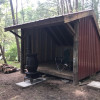 Rustic camping experience