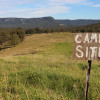 Camping with views to the Watagans