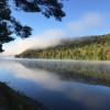 Flashing Moose river campsites
