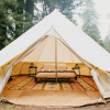 Bell Tent in the Coastal Redwoods