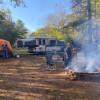 Hip Crashpad Tent Space firepit #2