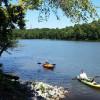 Swanky RV at the Lake
