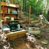 Babbling Brook Hillside Hammock Camp