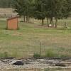 RV or camper pull-through site.