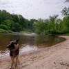 Paisible méandre de rivière