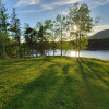 Waterfront camping in Mabou, C.B.