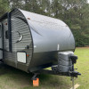 Glamping Trailer @ the BoMax!