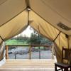 High Desert Canvas Tent on Farm