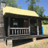 Amish built cabin in  Meigs county