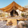Huntress tent, 360° mountain views