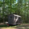 Off-Grid Gypsy Wagon Caravan Cabin