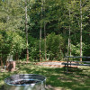 Mountain rainforest campsite # 4