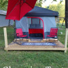 Smoky Mountain Meadow Glamping Tent
